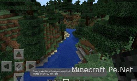 """Мод """"Камера"""" для Minecraft PE 0.10.5, 0.10.4, 0.11.0"""