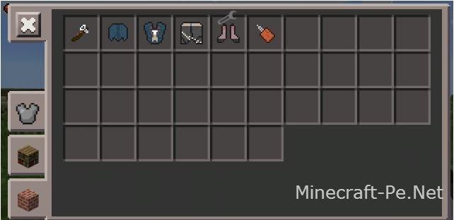 "Мод ""Доспехи Ассассина"" для Minecraft PE"