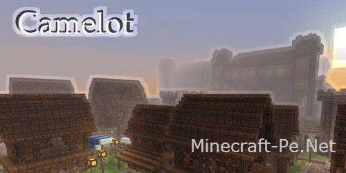 Карта Камелот для Minecraft PE 0.10.4