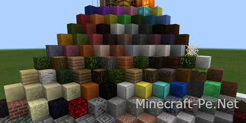 Текстурпак Huawhi's для Minecraft PE 0.10.4