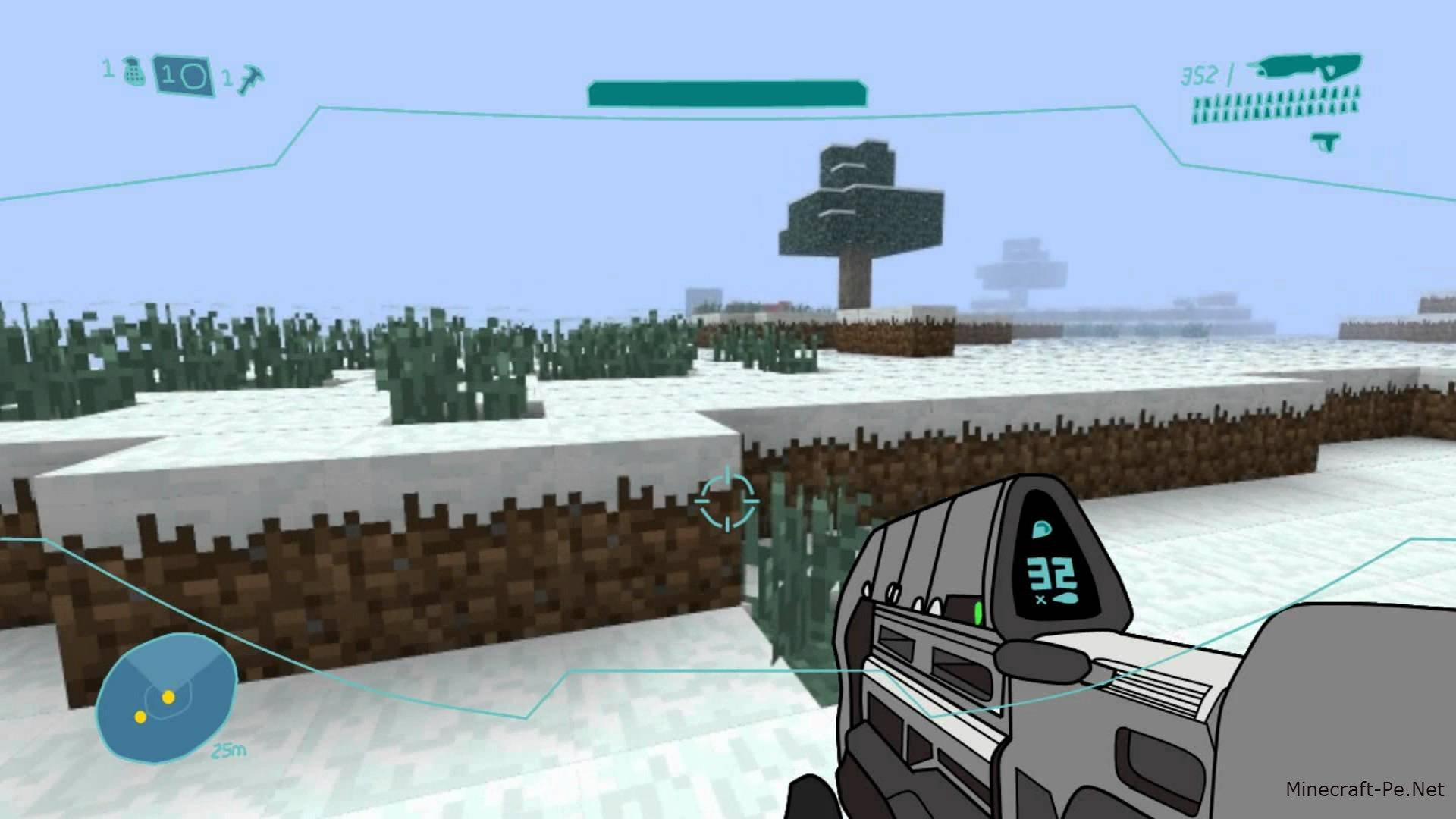 Текстурпак Halocraft для Minecraft PE 0.10.4