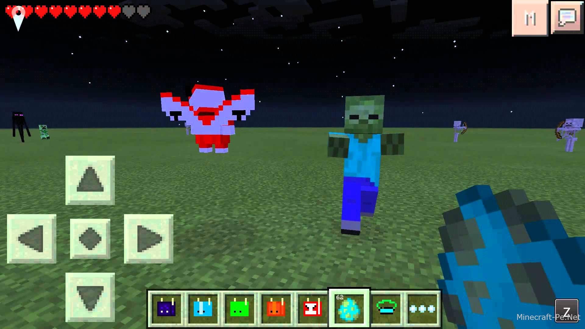 Мод Elements Demon Pets для Minecraft 0.10.5