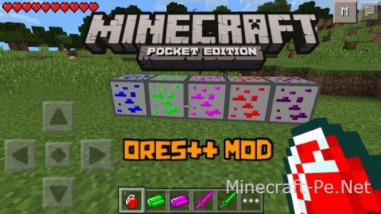 Скрипт 5 новых руд для Minecraft PE 0.10.5