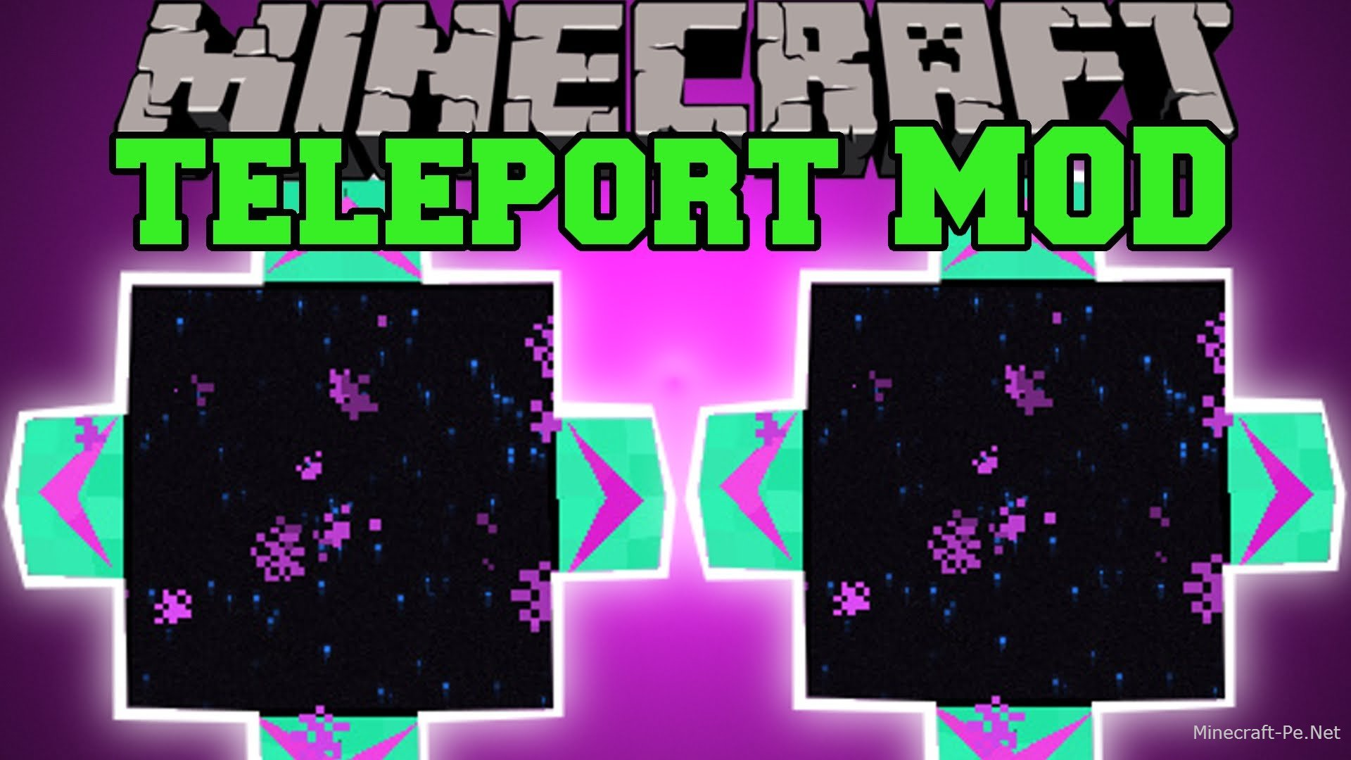 Мод Telepads Mod для Minecraft PE 0.10.5