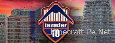 Карта Tazader City для Minecraft PE 0.11.0]
