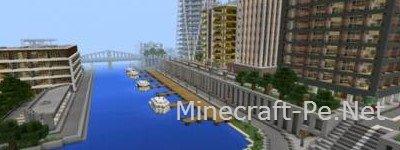 Карта Tazader City для Minecraft PE 0.11.0