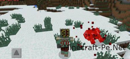 Мод Mortal Kombat для Minecraft PE 0.11.0
