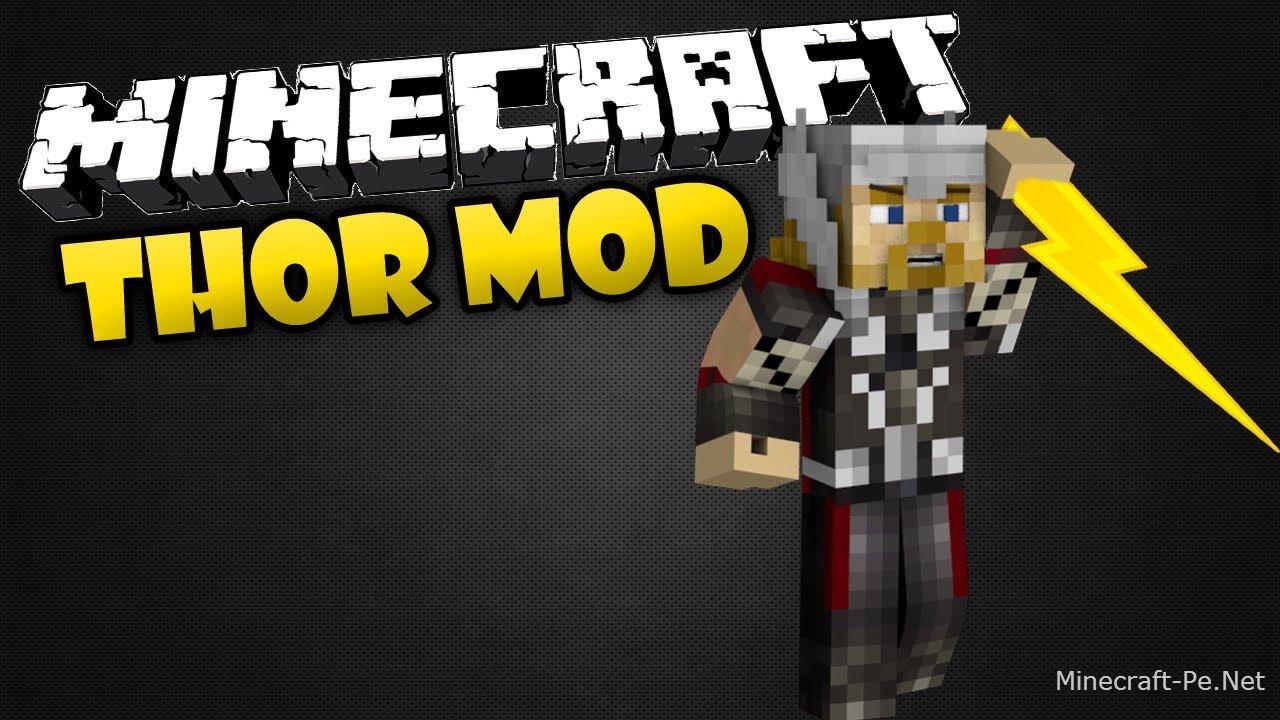 Мод Thor для Minecraft PE 0.10.5