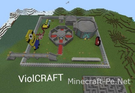 Сервер ViolCraft 0.11.0-0.11.1