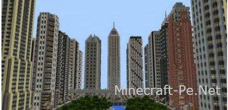Карта Universal City