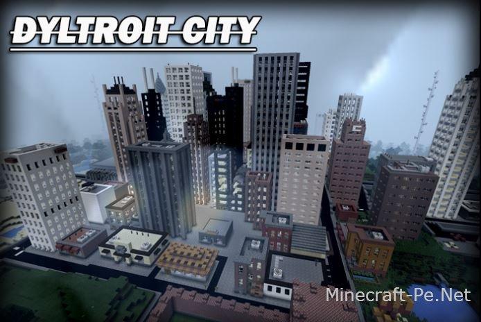 Карта Dyltroit City]