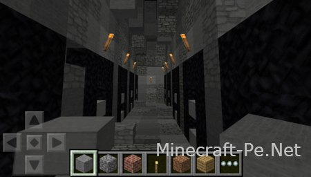 Карта Dungeon Craft для Minecraft PE