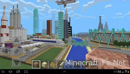 Карта Гигантский город