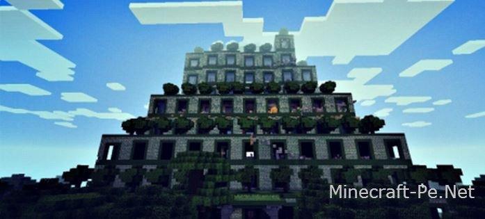 Древнейший храм - Карта для Minecraft PE]