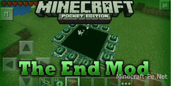 Мод The End - Новое измерение в MCPE 0.12.1, 0.11.1