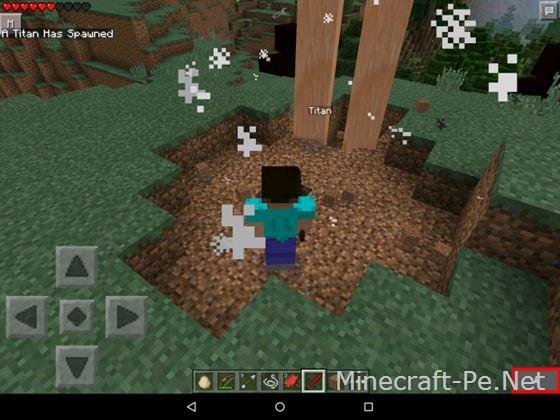 Мод Атака Титанов для Minecraft PE 0.12.1, 0.11.1