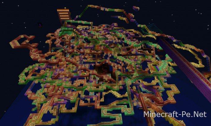 Карта Rainbow Road [1.2] [1.1] [1.0]