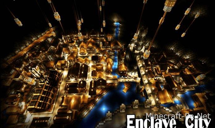 Карта Enclave City [1.2] [1.1] [1.0]