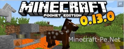 Скачать Minecraft PE 0.13.1 бесплатно]