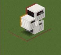 Дом в стиле модерн на майнкрафт  0.16.0, 0.15.7