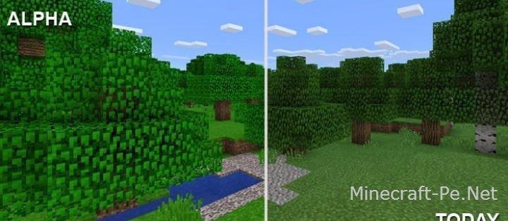 Текстур пак с версии Minecraft Alpha]