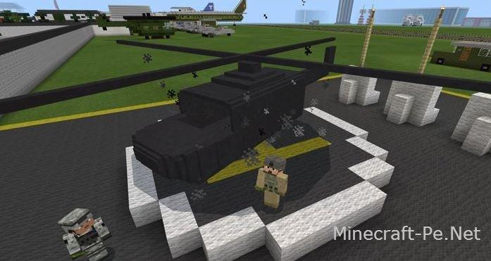 Мод на Вертолёт [1.0] [0.17.0]