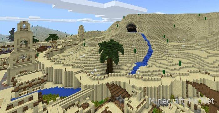 Карта Arabian Desert City