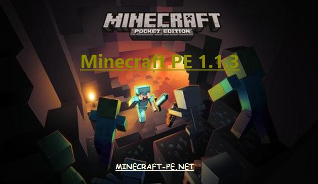 Скачать Minecraft PE 1.1.3 [Полная версия]]