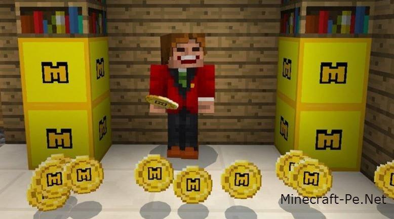 Текстурпак Minecraft Coins 1.1.0/1.0.0]