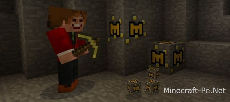 Текстурпак Minecraft Coins 1.1.0/1.0.0
