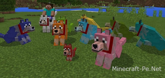 Мод Colorful Mutant Wolves [1.1] [1.0]]