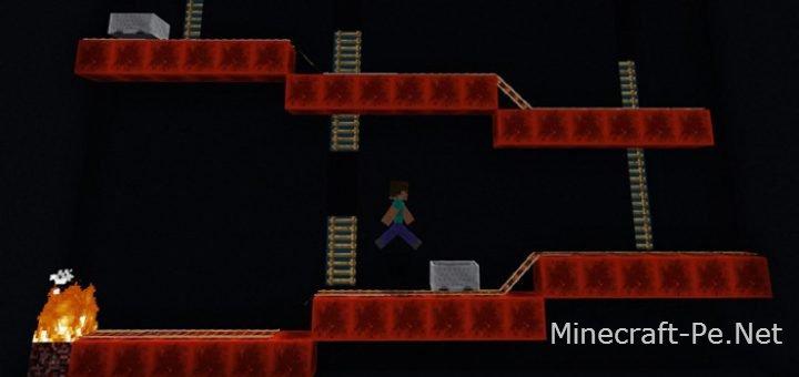Карта на прохождение Donkey Kong Arcade