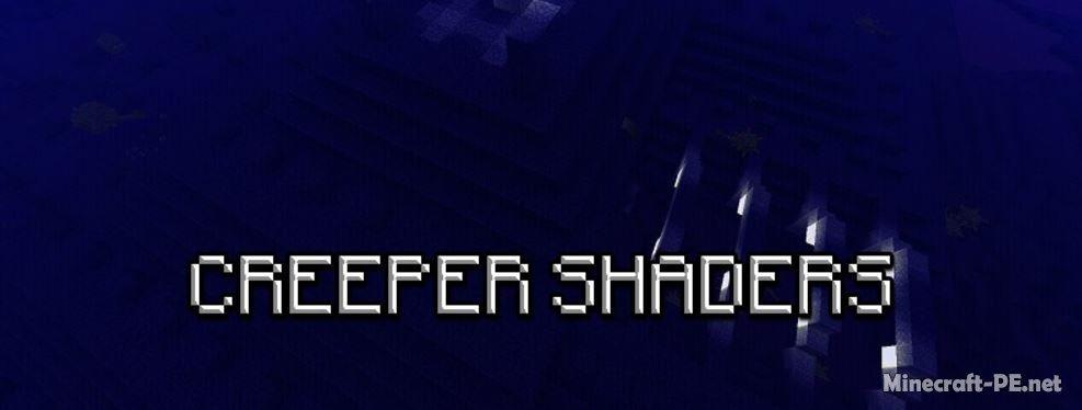 Шейдеры Creeper Shaders [1.1] [1.0]