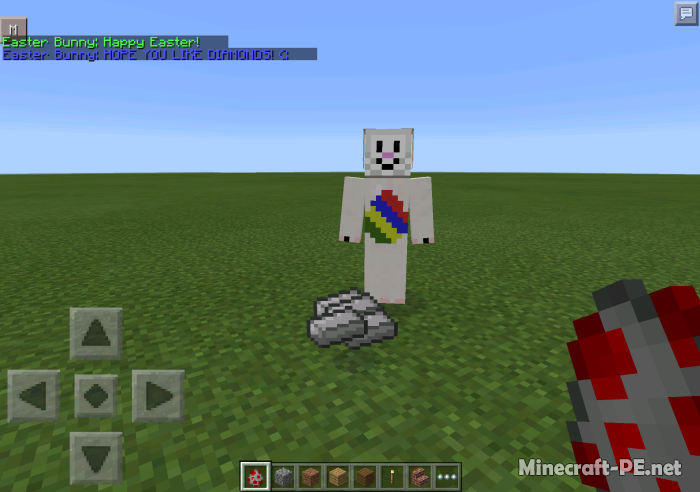 Мод Easter Bunny для Minecraft PE 0.11.0