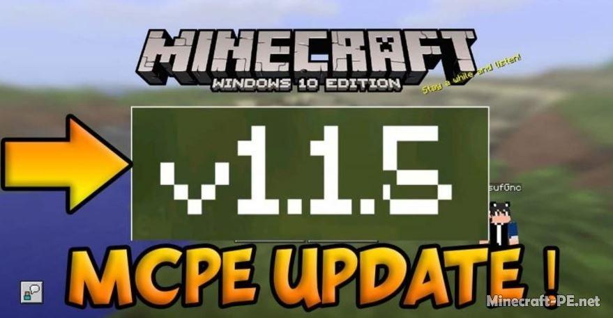 Скачать Minecraft PE 1.1.5 [Полная версия]]