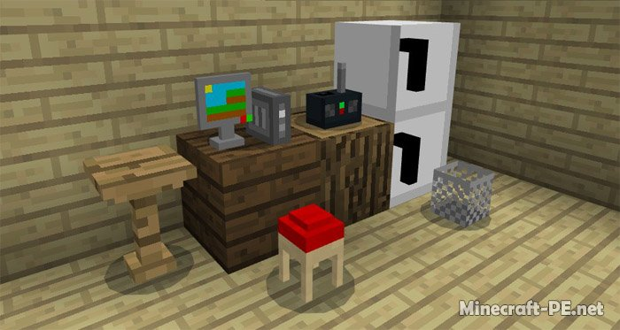 Мод Mine-Furniture [1.2]