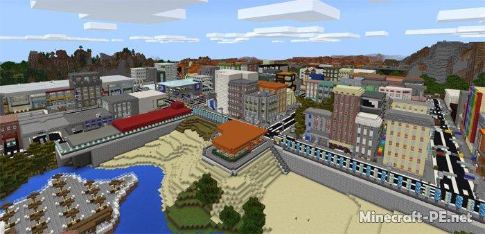 Карта Footscray City (Большой город)