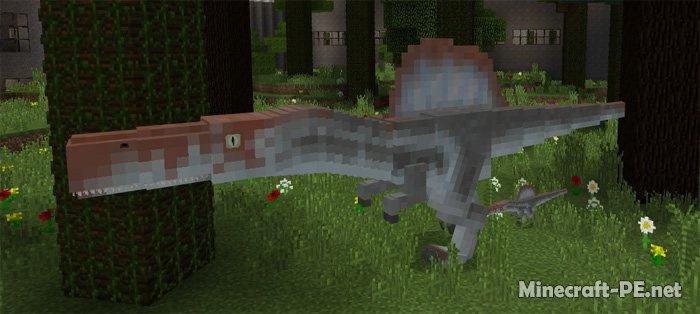 Карта Jurassic Craft World (Парк Юрского периода)
