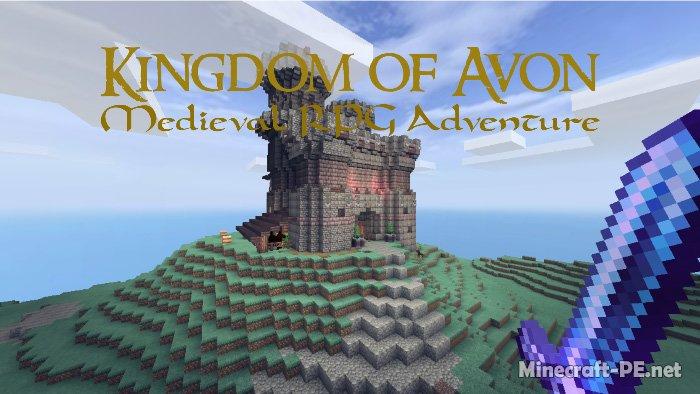 Карта Kingdom of Avon #2 (Мир RPG)