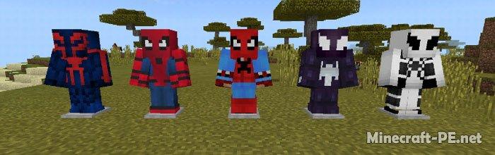 Мод Spider-Man [1.2.X] (Человек-паук)