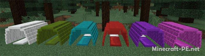 Мод Tents Pack [1.2.X] (Палатки в Майнкрафт)