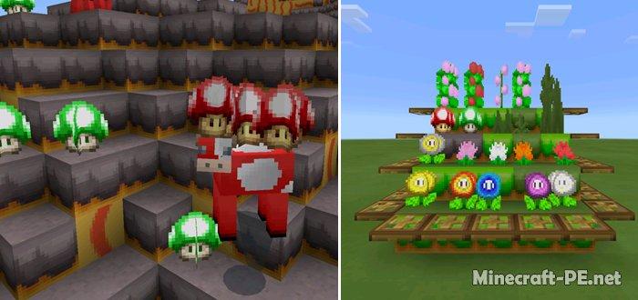 Текстурпак Super MarioCraft (16x)