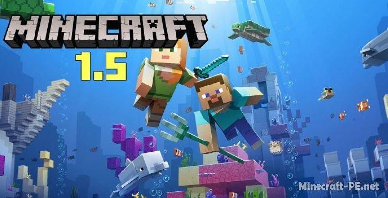 Скачать Minecraft PE 1.5 [Полная версия]]