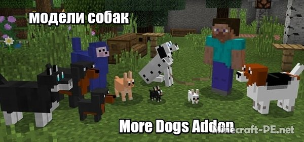 Мод More Dogs Addon [1.6] [1.5] [1.2] (Модели собак)]