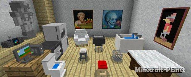 Мод Mine-Furniture [1.6] [1.5] [1.2] (Декорирование)