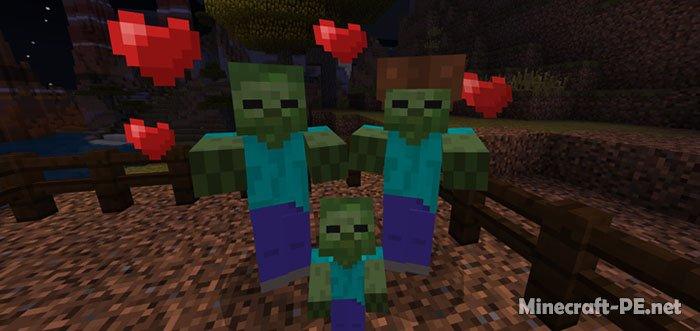 Мод Zombie Breeding [1.6] [1.5] (Разводи мобов)