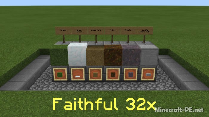 Текстурпак Simple Sides (32x) [1.6] [1.5]