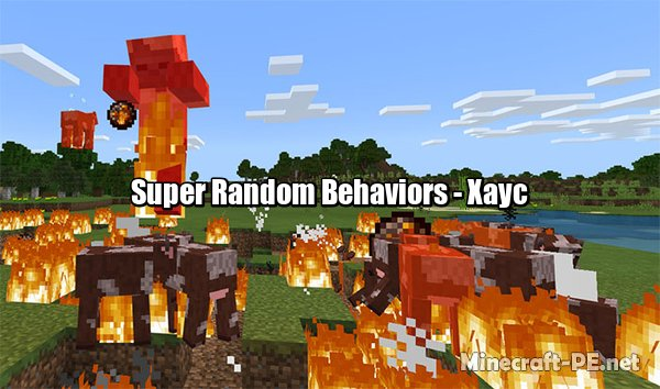 Мод Super Random Behaviors [1.6] [1.5] (Хаус)]