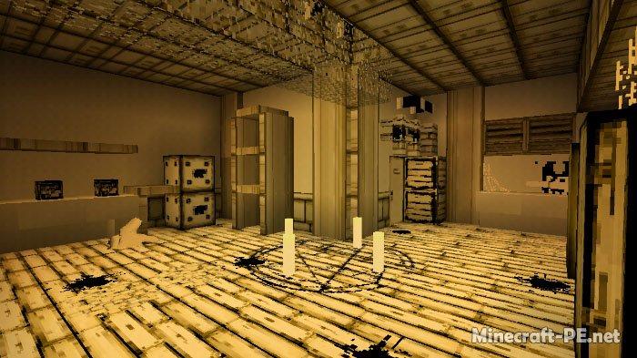 Карта Bendy Game Horror (Предыдущая часть) (Приключения)