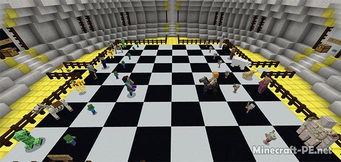 Карта MineChess (Мини игра)
